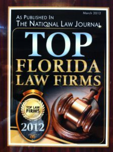 Mark's Firm is on the the top law firms in Florida.